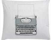 Gray Typewriter old -Digital Image Sheet -Original Illustrate Drawing  A4 Print transfer on Pillows, t-shirts, scrapbook, lampshades  ETC.v