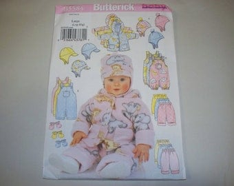 New Butterick Baby Clothes Pattern, B5584 (Large) (Free US Shipping)