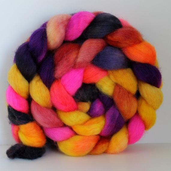 BLAZE -  BFL Wool Top Roving 4 oz