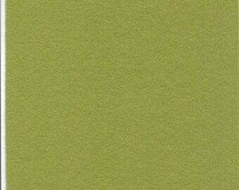 Pure Wool Felt Sheet - Green - Various Sizes