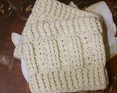 Instant Download --The Irish Sea  Boot Cuff Crochet  Pattern PDF---Make any size (matches Irish Sea Ear Warmer)