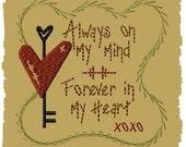 Always On My Mind-Version 1--4x4-INSTANT DOWNLOAD