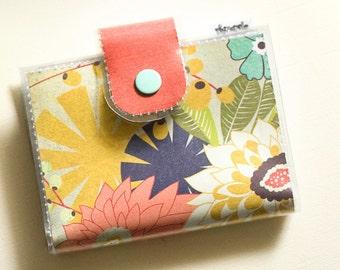 Bifold Card Wallet - Flower Garden