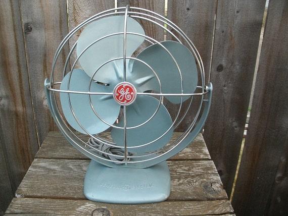 1950s General Electric Desk Fan