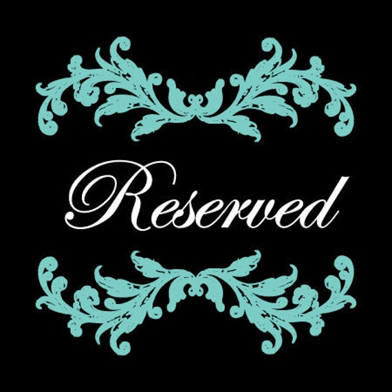 RESERVED for LINDSY