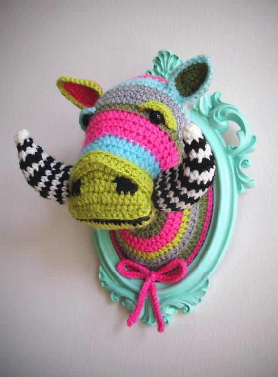 Crochet Boar Head