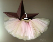 0-5T pink and tan tutu FREE shipping