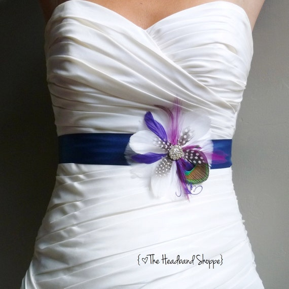 Reserved for Kate - custom sash