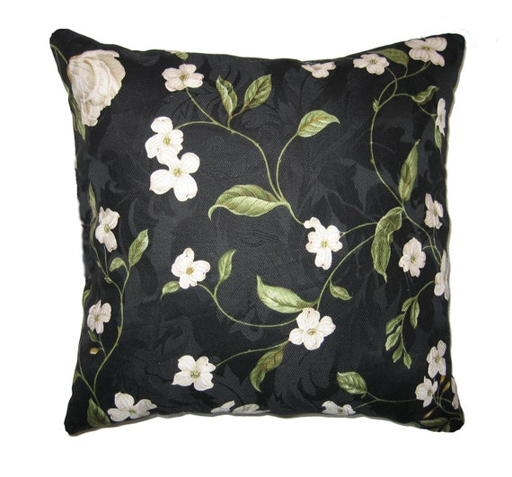 Throw Pillows In Clearance : CLEARANCE Floral Throw Pillow Waverly by LandofPillowsDotCom