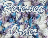 RESERVED ORDER for Beaded Fingerless Gloves for jukegrad