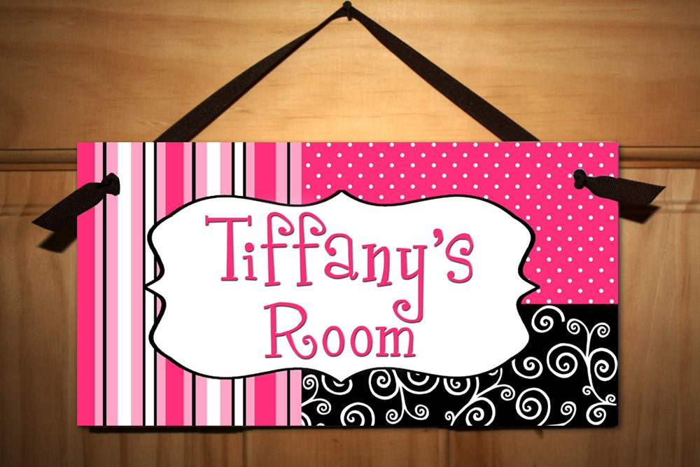 Kids Bedroom Door posh girl teen door sign kids bedroom playroom wall art decor