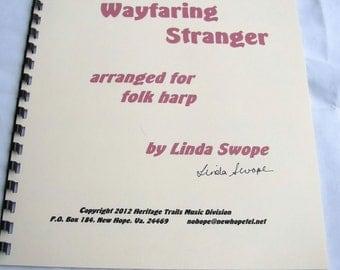 Poor Wayfaring Stranger, solo for folk harp by Linda Swope, composer