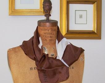 GEMINI Robert Sargent Vintage Silk Scarf