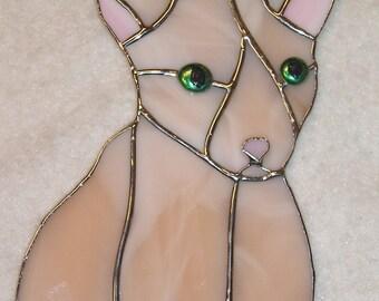 Cornish Rex (Hairless) Cat Suncatcher