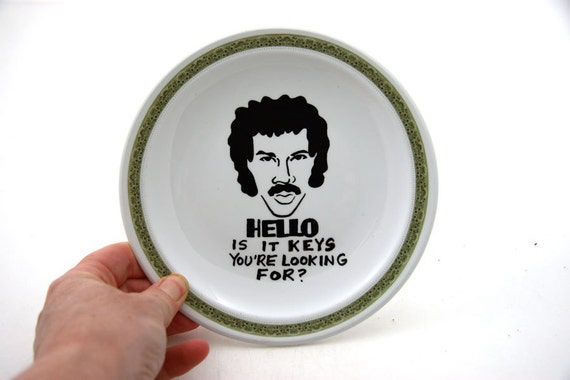 Lionel Richie Hello is it keys you're looking for  Funny Gift