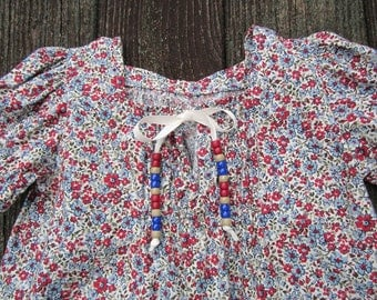 Girls peasant styled blouse in size 5