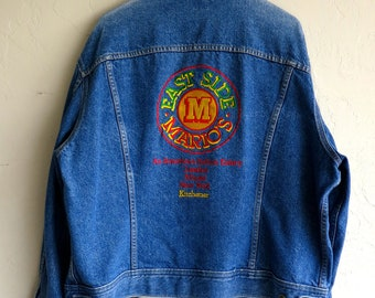 "Vintage ""Mario's"" Lee Denim Jacket"