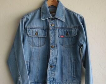 Vintage Wrangler Light Wash Denim Jacket