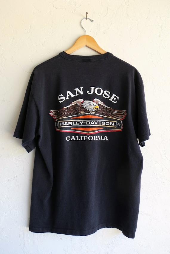 """Harley Davidson San Jose """"Think Fast"""" Shirt"""