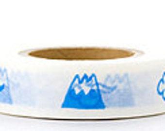 Japanese Washi Masking Tape - Mt Fuji - Yamada
