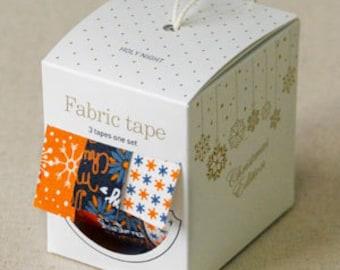 Nuage Fabric Masking Tape - Holy Night - Christmas Set 3