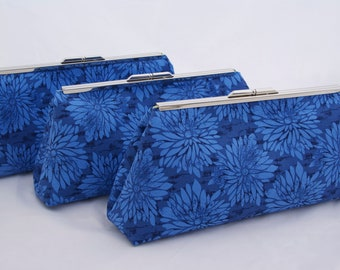 Bridesmaids Gift Blue Handbag Bridesmads Gift Clutch - Design your Own for your wedding Party