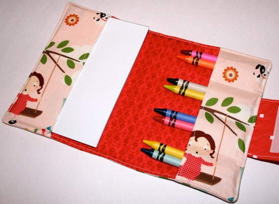 Crayon Wallet - Drawing Set - Fly a Kite
