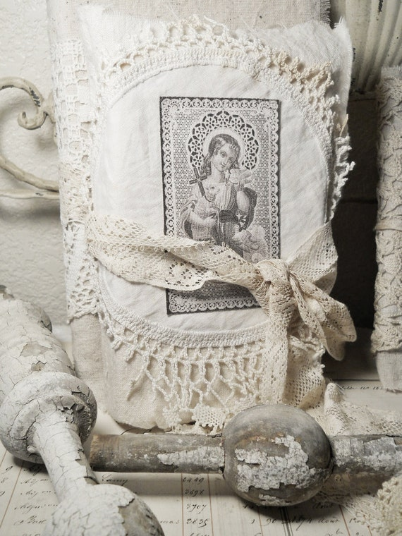 Altered Art Book French Saint