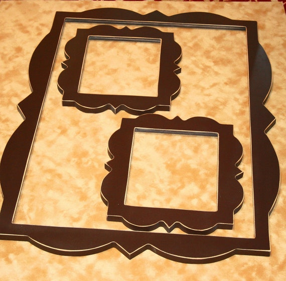 Whimsical Picture Frames collection set u0026quot;Packageu0026quot; 1) 20 x 30 and 2 ...