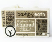 Almond Soap with Lemon GIFT Wrapped in Plantable Paper