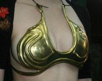 Brass Princess Leia