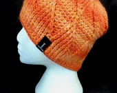 SAMPLE SALE - Zwilling McTwist Beanie - Julius Orange