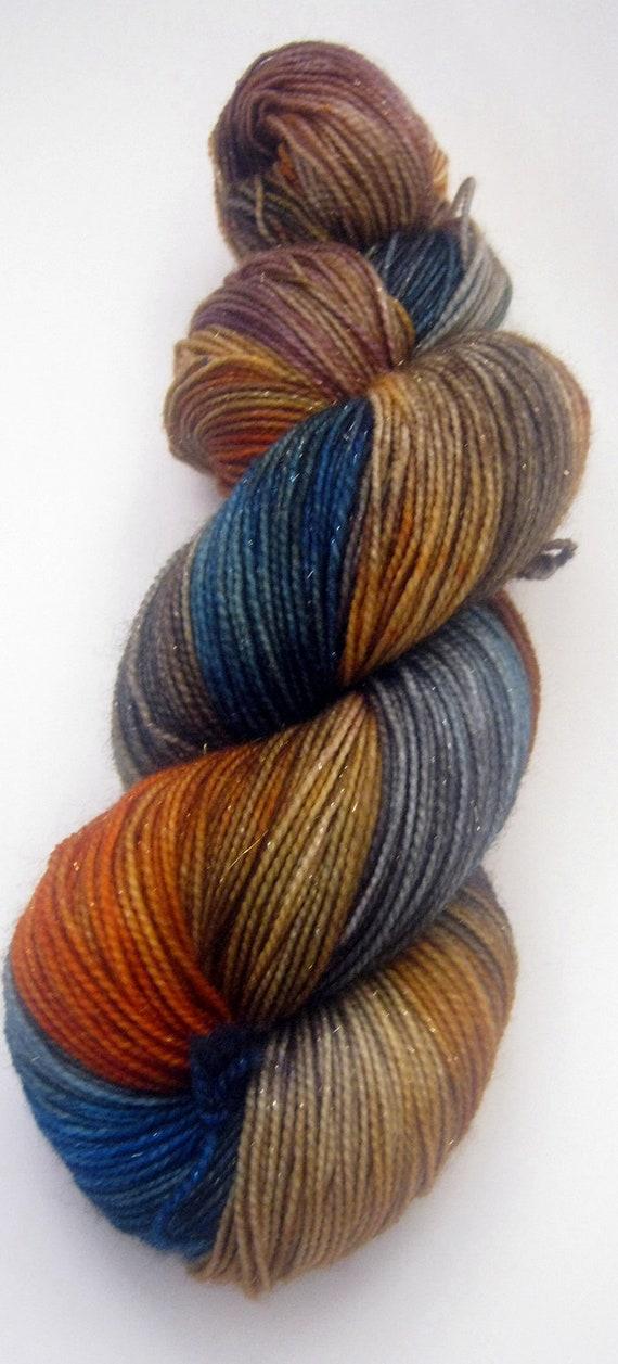 Sparkle Sock Yarn 100g - Tesseract