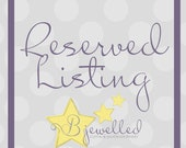 Reserved Listing For Meagan