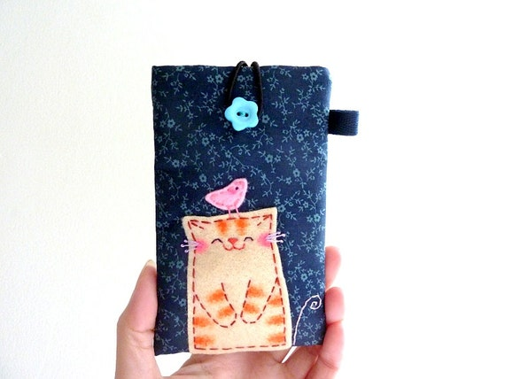 Cat iphone Case, iphone Sleeve, iphone case, mobile phone case - Cat