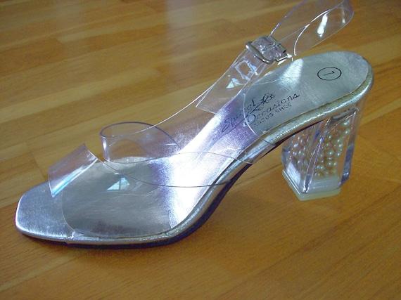 Cinderella Clear Sandal Glass Slipper Bridal Princess By Calla318