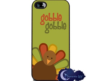 Gobble Gobble Turkey, Thanksgiving - iPhone Cover, Case