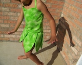 Tinkerbell Costume- girls sizes 2t-8.... design by solilly