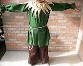 Scarecrow costume sizes 2t-10
