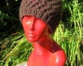 Digital pdf download - Superfast Simple Lace Skullcap Knitting Pattern