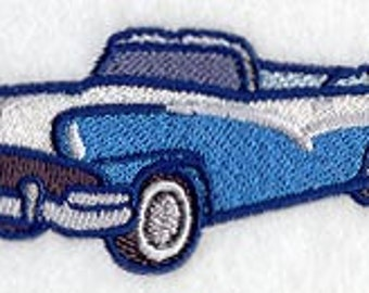 1956 Ford Sunliner Embroidered Terry Kitchen Towel  Bathroom Hand Towel