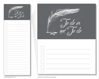to do or not to do // notepad // shakespeare // list // to do // lines // checkbox // skel // skel design // skel & co