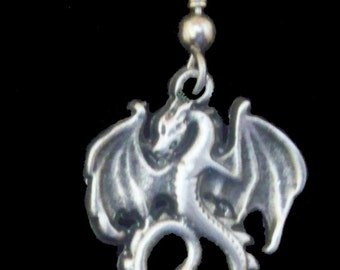 ER-24 Small Dragon Earrings