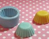Kawaii Super Flexible Round Cup Cake Bottom or Oval Tart Bottom Mold 19mm Food Safe