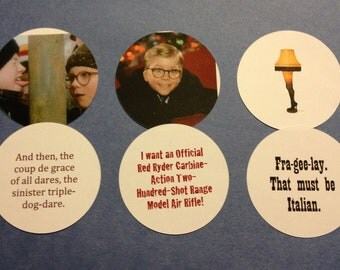 Collection of A Christmas Story Ornaments