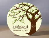 Bridesmaid Gift | Personalized Pocket Mirror | Flower Girl Gift | Grandmother of the Bride Gift | Maid of Honor Gift | Wedding Party Gift