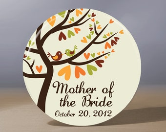 Bridesmaid Gift | Personalized Pocket Mirror | Mother of the Bride Gift | Maid of Honor Gift | Mother of the Groom Gift | Wedding Party Gift