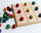Pattern Board - A Montessori and Waldorf Inspired Classic Board Game