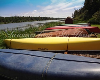 Colorful Canoes 2