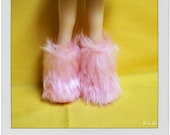 Furry boots reserved for Karen Criggall